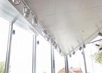 akustikputs, innertak, undertak Intermontage